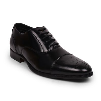 Healers By Liberty Black Formal Shoes For Mens (SSL-18) Healers