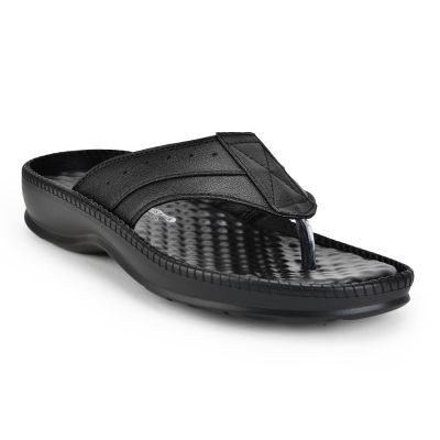 Coolers By Liberty Black Mens Slipper Coolers