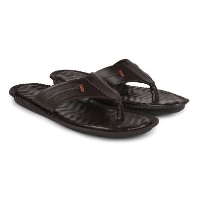 Coolers Brown Formal Flip Flop Slippers For Mens (TRL-120 ) Coolers
